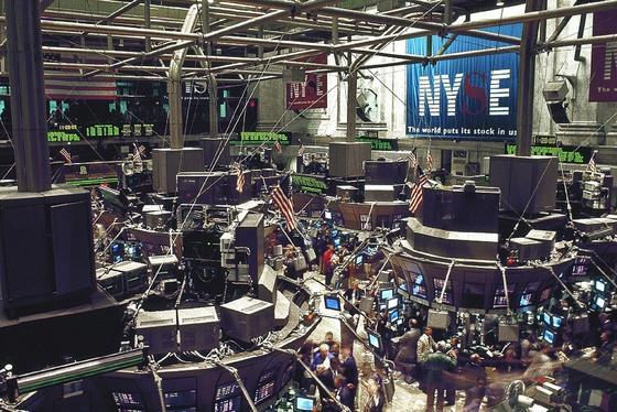 Зал биржи