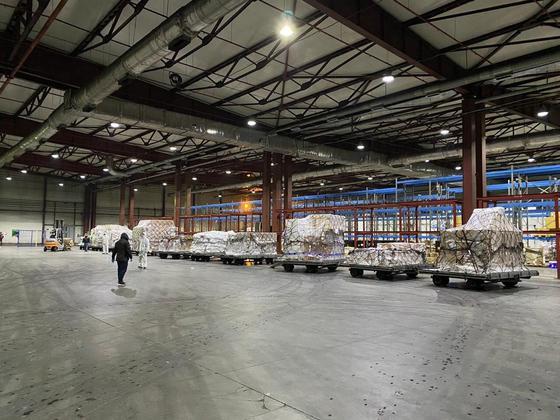Казахстан получил гуманитарную помощь от Китая (фото)