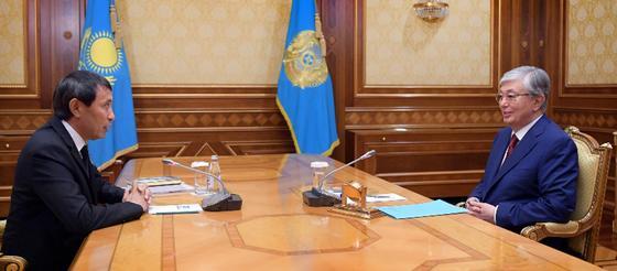 Токаев обсудил будущее казахстанского кино с главой Союза кинематографистов
