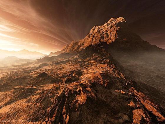Марс: поверхность, особенности