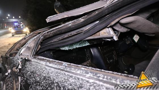 Салон разбитого автомобиля