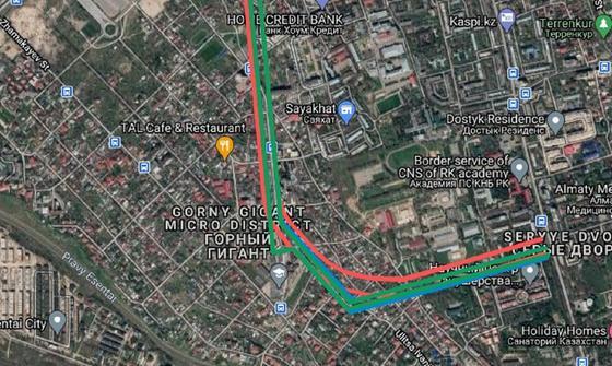 План пробивки проспекта Назарбаева