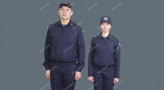 Проект новой формы полицейских показало МВД Казахстана (фото)
