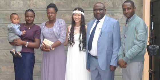Казахстанка вышла замуж жителя Кении и планирует перевезти семью в Казахстан