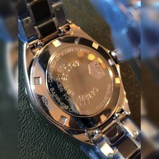 Часы от Серхио Агуэро для сотрудников клуба