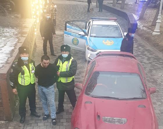 Полиция задержала угонщика авто