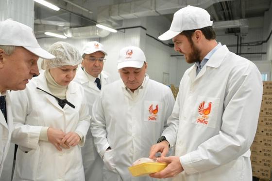 Аким области Ермек Маржикпаев с рабочим визитом посетил Целиноградский район