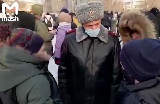 Дети на митингах в России