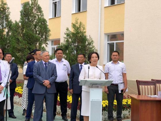 Школа имени героя ВОВ Ивана Журбы восстановлена в Арыси