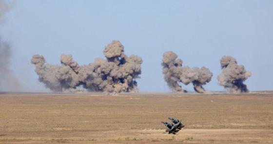 Экипажды құтқару, зымыранды іске қосу: Қарағанды облысында әскери жаттығу өтті