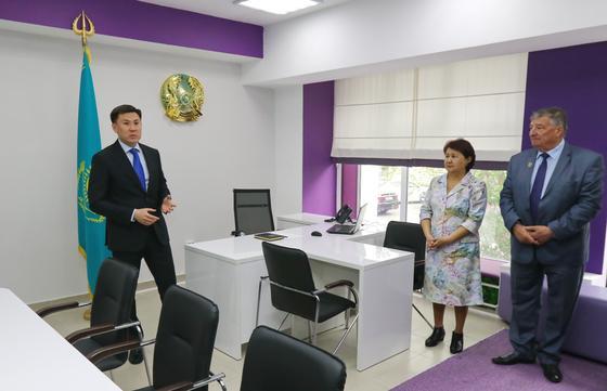 В Павлодаре заработал «ASHYQ KABINET»