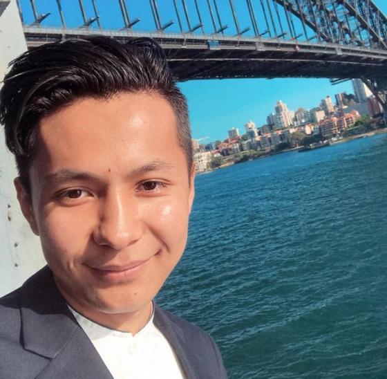 Данияр в Австралии