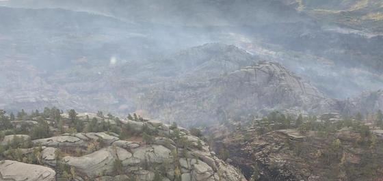 Крупный пожар в Баянауле: огонь тушат 500 пожарных