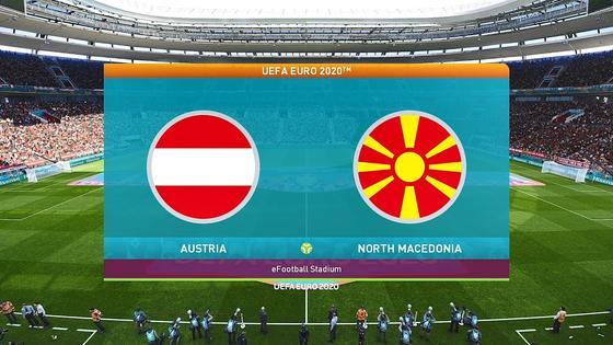 Австрия - Северная Македония