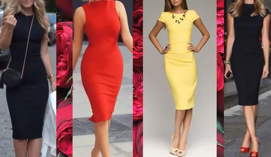 Модные варианты платьев 2021