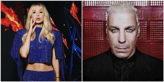 Лобода проговорилась об отношениях с лидером Rammstein