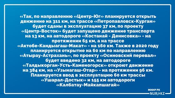 Какие дороги станут платными в Казахстане с 2020 года