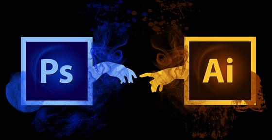 Adobe Photoshop и Abode Illustrator