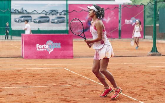 Турнир по теннису ForteOpen в поддержку детского спорта состоялся в Алматы