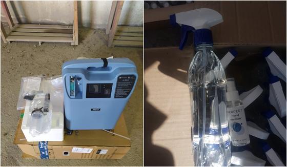 Аппараты ИВЛ и спирт пытались незаконно ввезти в Казахстан (фото)