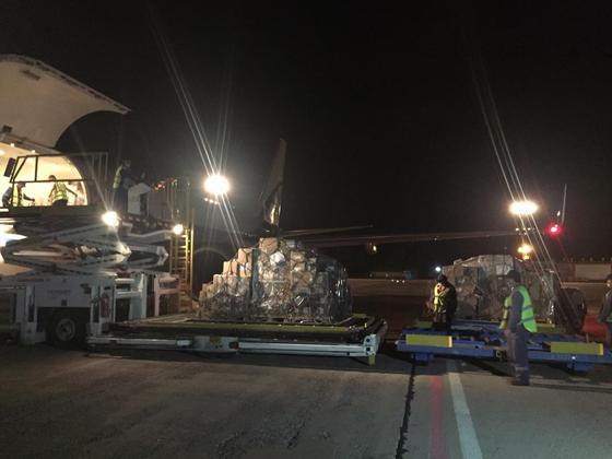 Семнадцать тонн лекарств доставили в Караганду