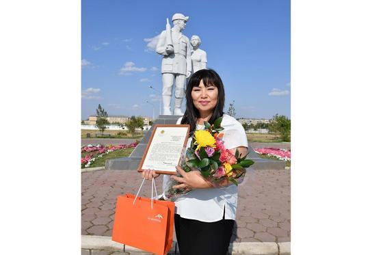 Ботагоз Куснамбетова, маркшейдер горного сектора шахты Казахстанская