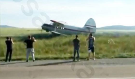 Самолет совершил вынужденную посадку в ВКО