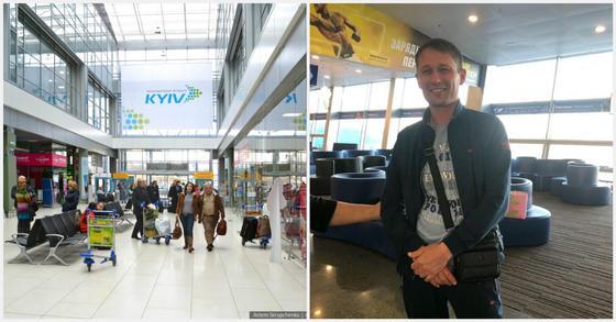 """""""Он пережил невероятный шок"""": казахстанец спас ребенка от гибели в аэропорту Киева"""