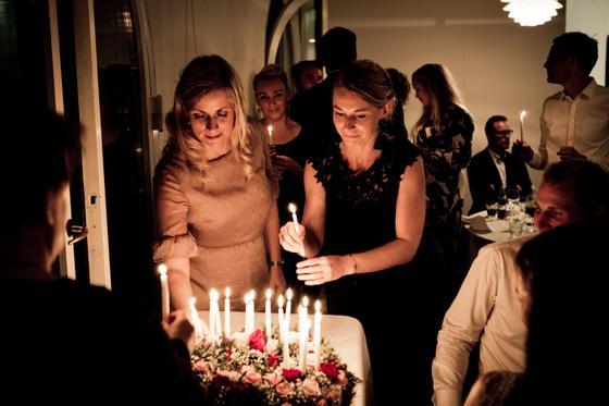 день рождения торт свечи