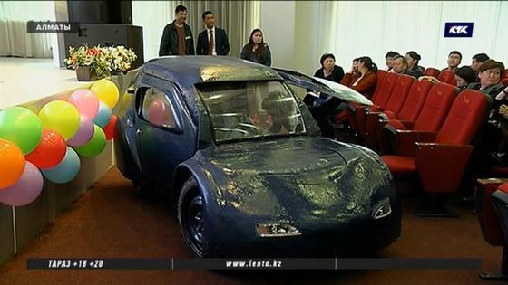 Отечественный электромобиль собрали в Казахстане