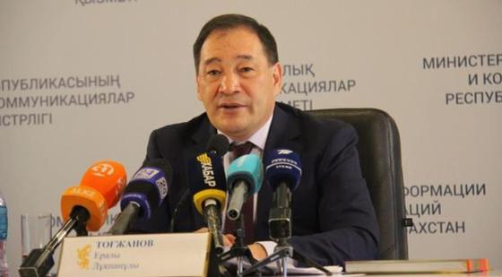Вице-премьер Ералы Тугжанов тоже заразился коронавирусом