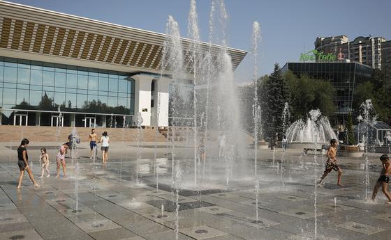 Погода в Алматы на 26 августа