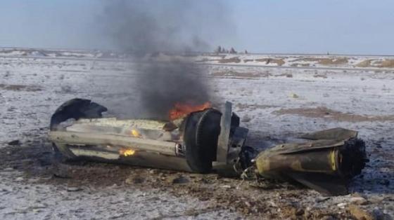 Обломки ракеты упали в Актюбинской области: СМИ сообщили о ее происхождении