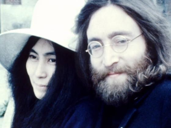 Джон Леннон и Йоко Оно в браке