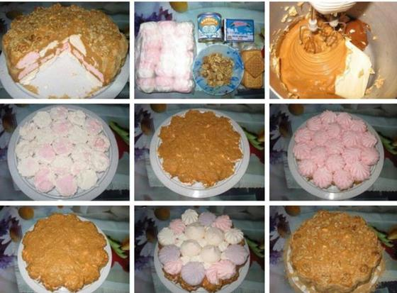 Простые рецепты тортов для начинающих без выпечки