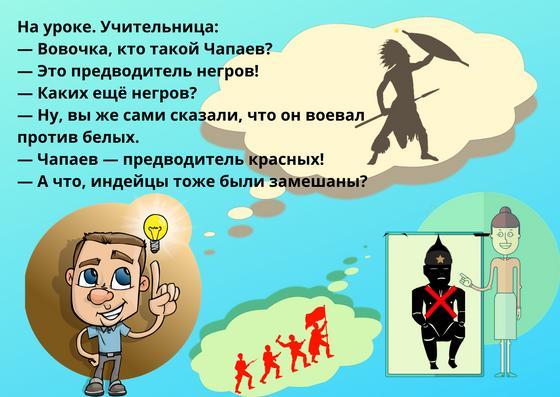 Анекдоты про Чапаева, Петьку и Анку 2020