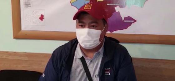Заехавший на иномарке в Кобейтуз водитель извинился (видео)