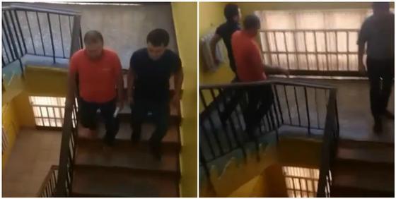 Ведут в наручниках: видео задержания Руслана Жанпеисова появилось в Сети