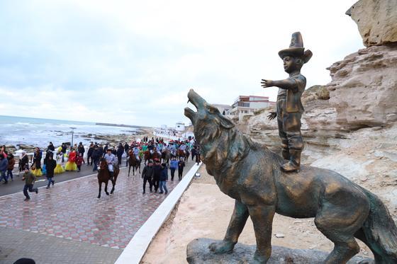 В Актау открыли Площадь Мифов