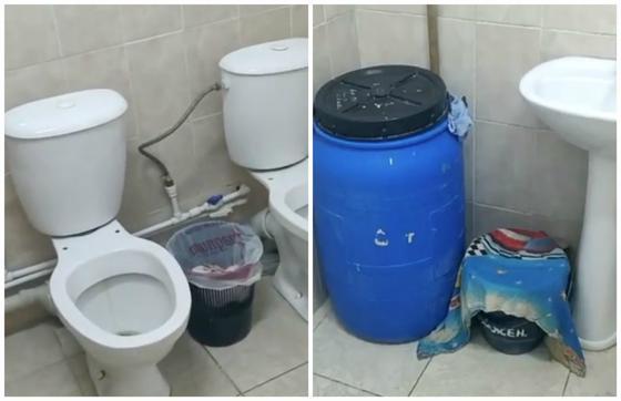 Школьные туалеты возмутили жителей Караганды (видео)