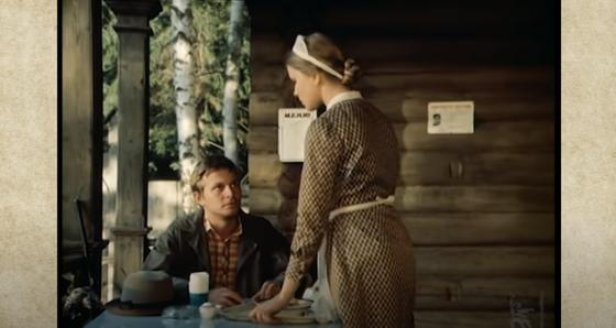 Кадр из фильма с Сергеем Колтаковым