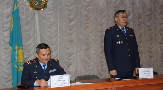 Нового начальника управления полиции назначили в Актобе