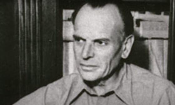 Писатель Паустовский