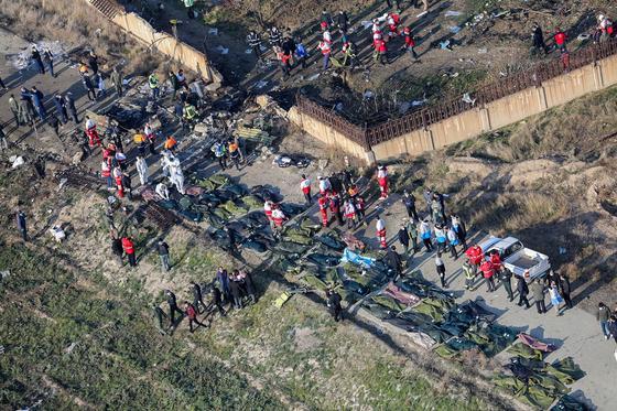 СМИ: В Иране признали, что украинский самолет был сбит случайно