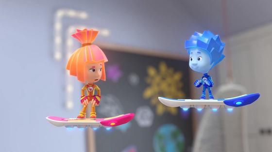 Кадр из мультфильма «ФиксиКино. Большая перемена»