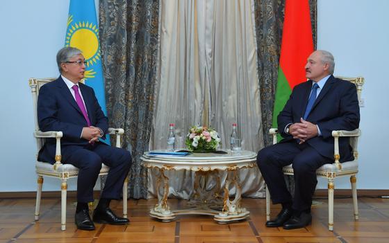 Токаев: В Казахстане по-особому относятся к белорусскому народу