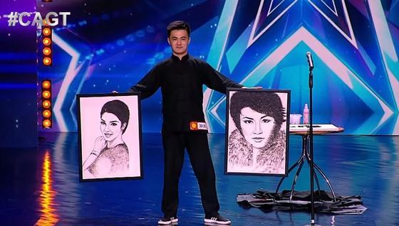 «Волосатые» картины» удивили судей Central Asia's Got Talent