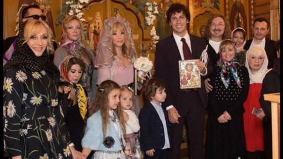 Венчание Аллы Пугачевой и Максима Галкина