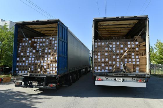 В Туркестанскую область на борьбу с коронавирусом завезено около 5 млн лекарственных средств