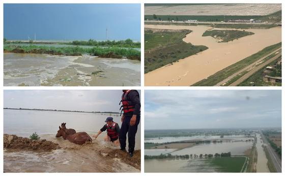 Елордадан Мақтаарал ауданы тұрғындарына гуманитарлық жүк жөнелтілді